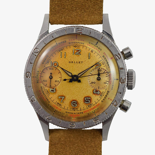 Gallet Flying Officer Chrongraph MkII