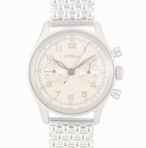 1950s Lemania Arabic Chronograph 27 CH
