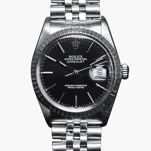 1987 Rolex Graphite black Datejust 16030