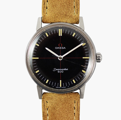 1968 Omega Seamaster 600 Technical