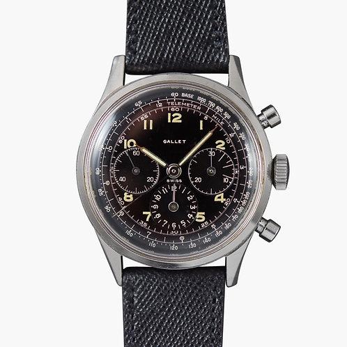 1960s Gallet Multichron EP4 Chronograph