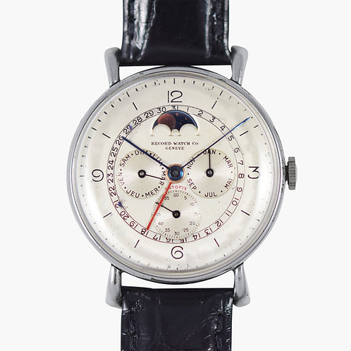 1940's Record Watch Co. Datofix