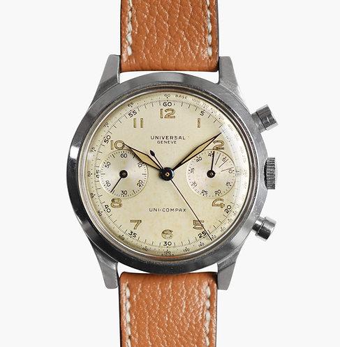 1940s Universal Genève Uni Compax Spillmann