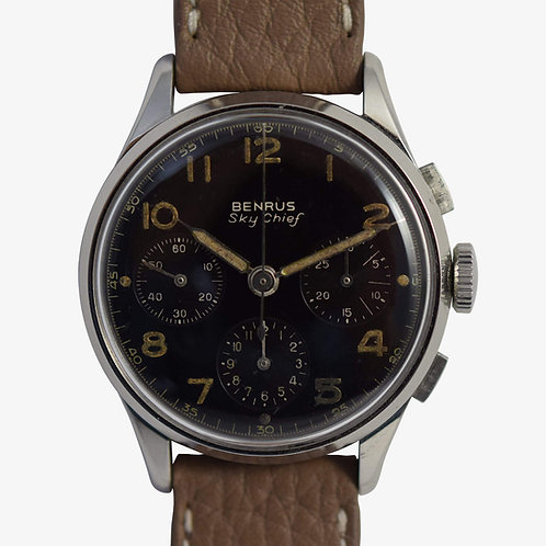 1960s Benrus Sky Chief Chronograph