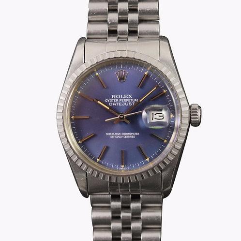 Rolex Datejust 16030 Quickset Blue