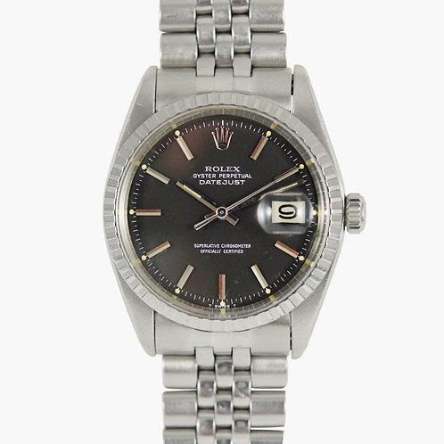 1970s Rolex 1603 Matte Black Dial