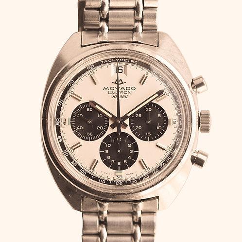 1969 Movado Hs360 Panda Chronograph