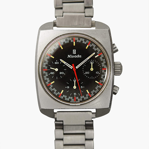 """1970's Nivada """"Racing Dial"""" Chronograph"""