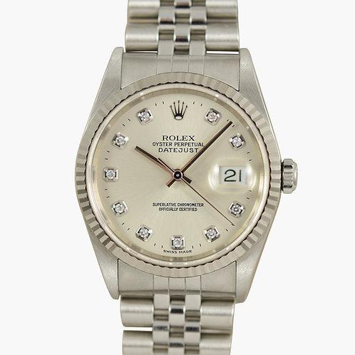Rolex Datejust 16234 Factory Diamond LNOS