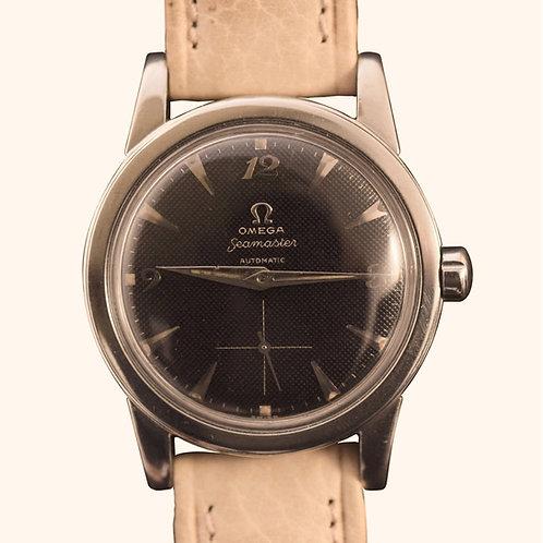 1950's Omega Black Breguet Honeycomb 2576-16