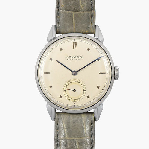 """1950's Movado """"Fab Suisse"""" with Flying Lugs"""