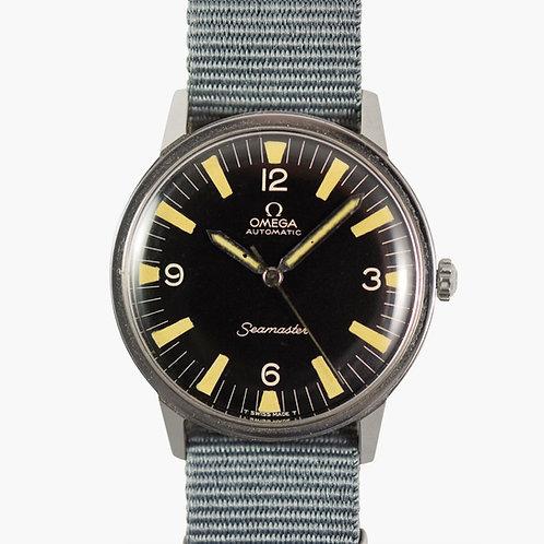 1965 Omega Seamaster Military Dial 165.002