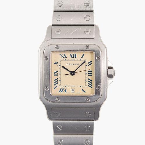 1990s Cartier Santos Galbée Steel
