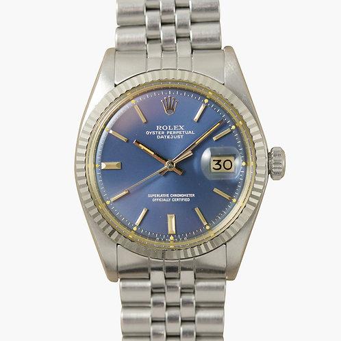 1970s Rolex Datejust 1601 Denim Blue