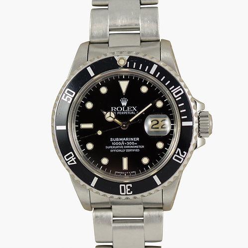 1987 Rolex Submariner 16800