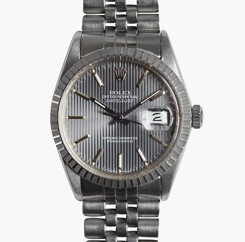 1985 Rolex Datejust Grey Tapestry 16030