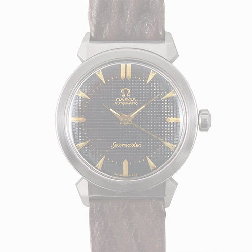 1950's Omega Seamaster Hooded Hobnail Dial