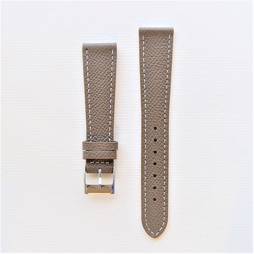 18mm Taupe Textured Calf