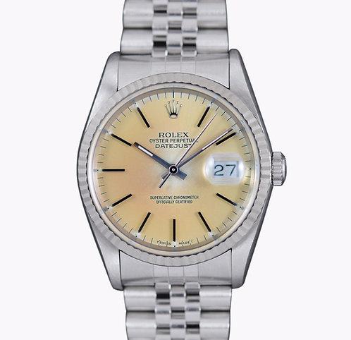 """1993 Rolex Datejust 16234 """"Pannacotta"""""""