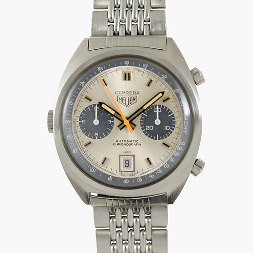 1971 Heuer Carrera 1153 Grey Panda