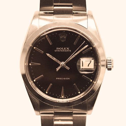 1960s Rolex Oysterdate Gilt Precision
