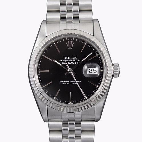 1984 Rolex Datejust 16014 Black