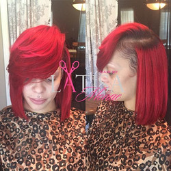 I loveeeeee this Bob!! And the color.. _ Make your appointments online today www.hairbylatisamonae