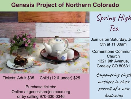 Spring Tea 2021 - You are invited!