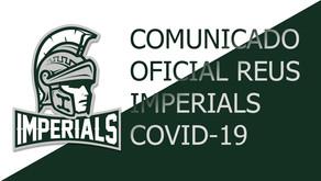 Comunicado Reus Imperials - Covid19