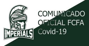 Comunicado Oficial FCFA Covid-19
