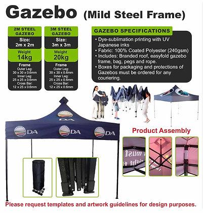 Gazebo (Mild Steel Frame)