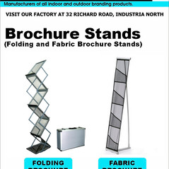 Budget Branding. Brochure Stand. Product