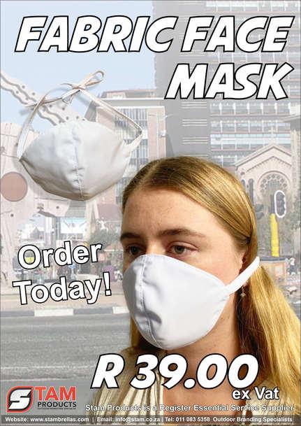 Fabric Covid mask