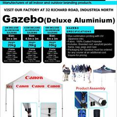 Budget Branding. Deluxe Alu Gazebo. Prod