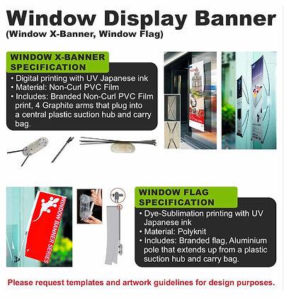 Window Display Banner