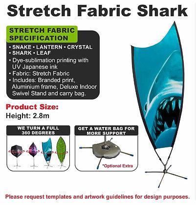 Stretch Fabric Shark