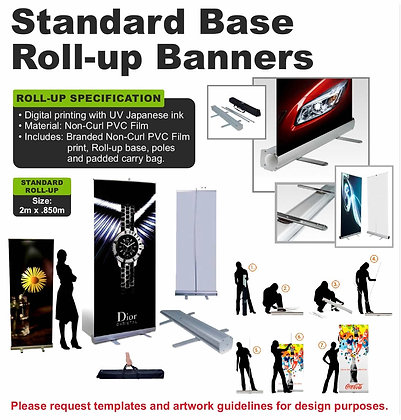 Standard Base Roll-up Banners