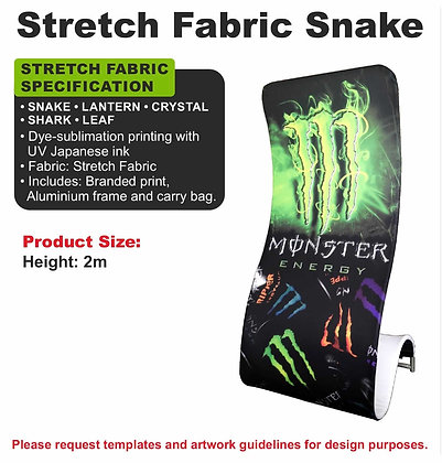 Stretch Fabric Snake