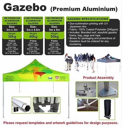 Gazebo (Premium Aluminium)