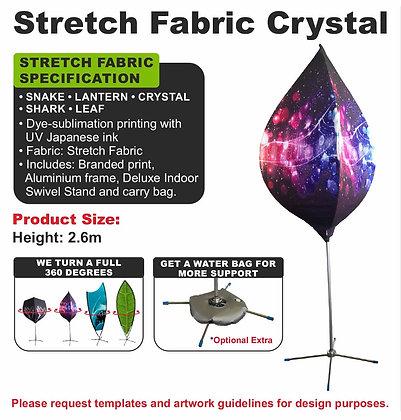 Stretch Fabric Crystal