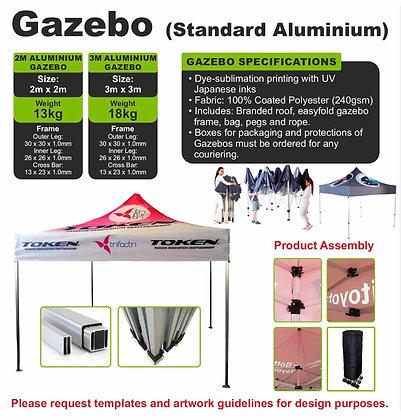 Gazebo (Standard Aluminium)
