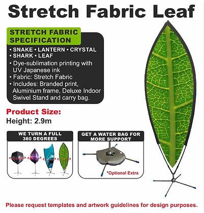 Stretch Fabric Leaf