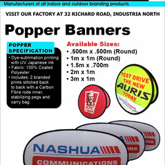 Budget Branding. Popper. Product Page. 2