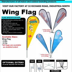 Budget Branding. Wing. Product Page. 202