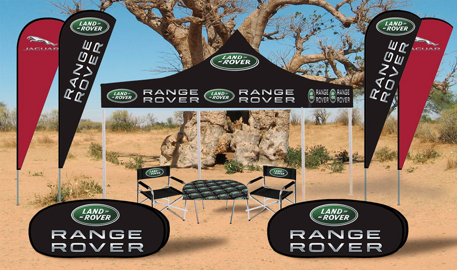 Combo Deal, gazebos, flags & Banners