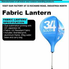 Budget Branding. Lantern. Product Page.