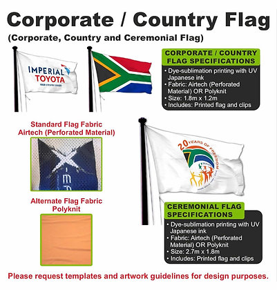 Corporate / Country Flag