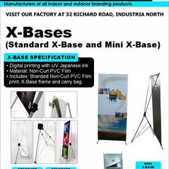 Budget Branding. X-Base. Mini X-Base. Pr