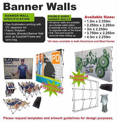 Banner Walls