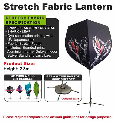 Stretch Fabric Lantern